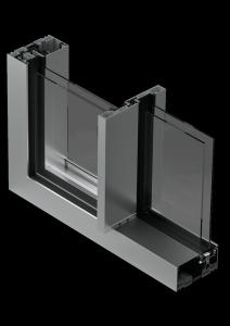 serramento scorrevole in alluminio